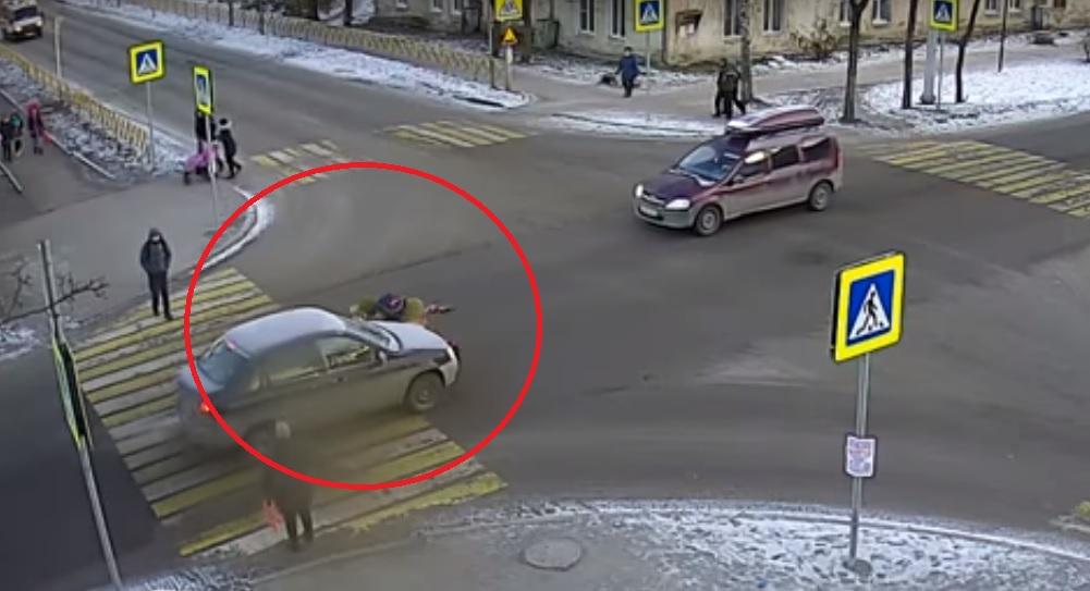 ДТП на пешеходном переходе - одно из самых распространенных на дорогах РФ