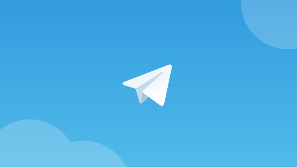 Логотип программы Телеграм