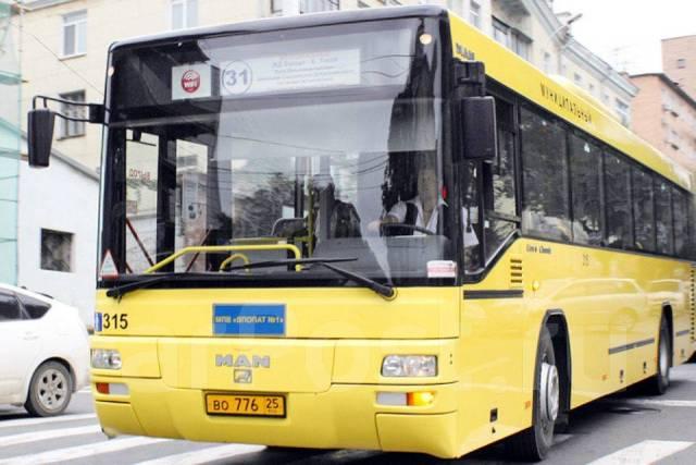 Автобус со спецномером