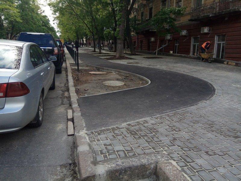 въезд на тротуар