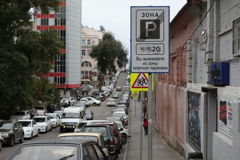 С парковкой в Ростове-на-Дону сложно