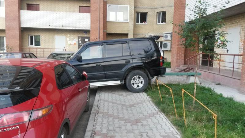 Неправильная парковка - основная причина задержания