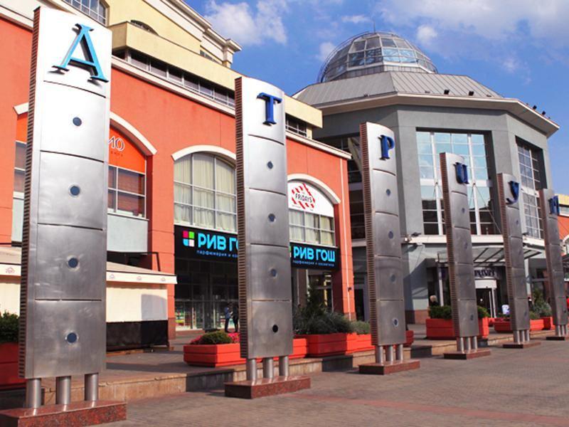 3 этажа магазинов и ресторанов