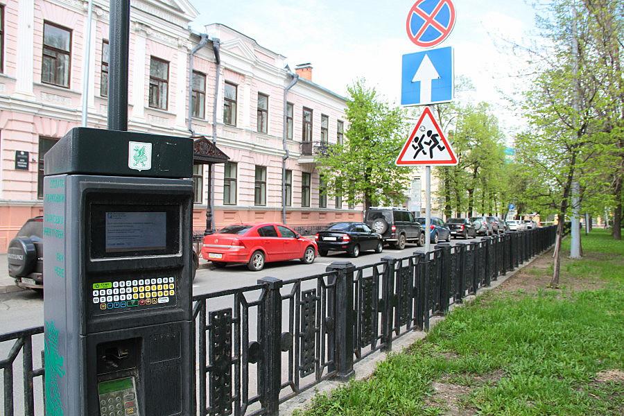 Казанский паркинг