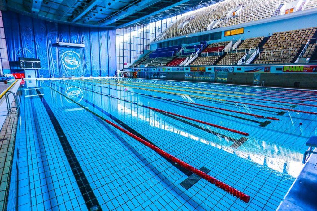 Плавательный бассейн в «Олимпийском»