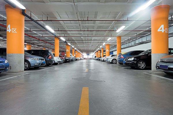Оборудованный подземный паркинг