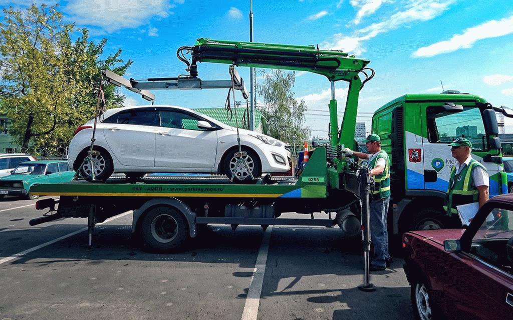 При нарушении правил парковки транспортное средство могут эвакуировать