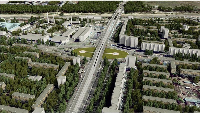 Город со статусом автомобилизированного мегаполиса