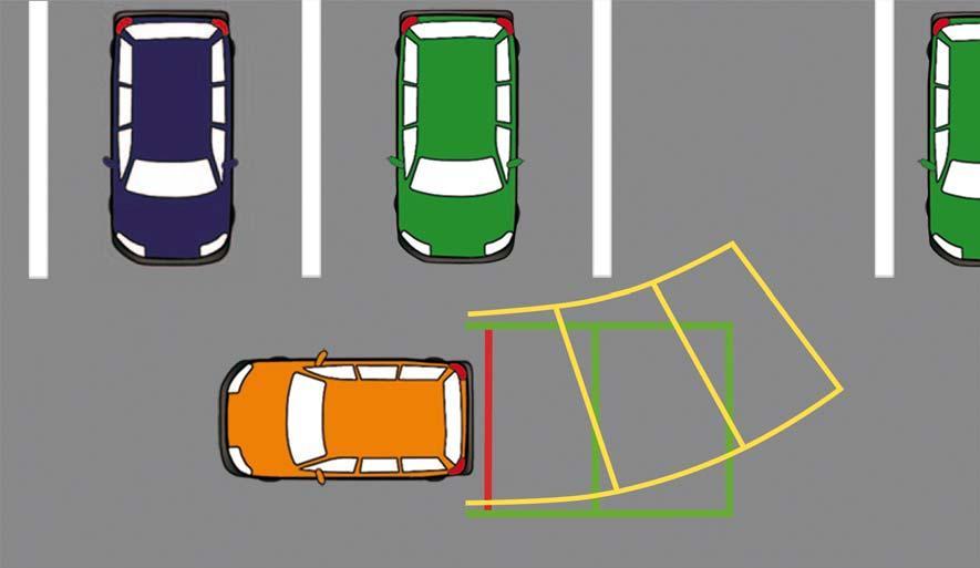 Парковка под углов в 90 градусов не совсем удобная для начинающих автомобилистов