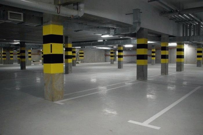 """Подземная парковка """"Зарядье"""""""
