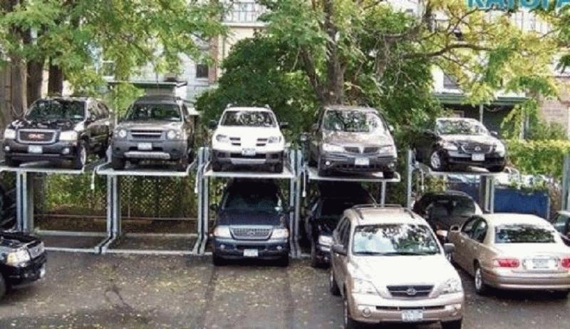 Возможное решение проблем с парковочными местами во дворах жилых домов