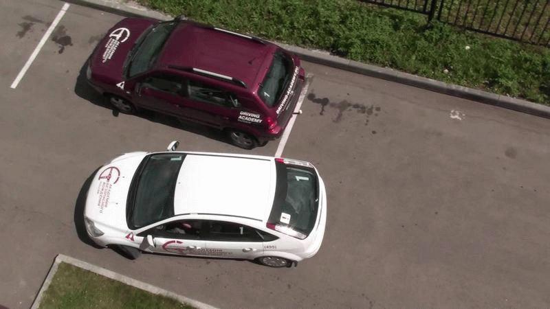 Как парковаться у бюрдюра