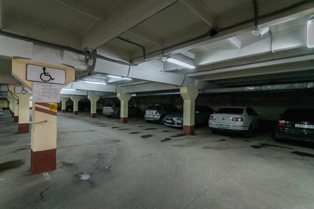 Парковка в торговом центре «Европейский»