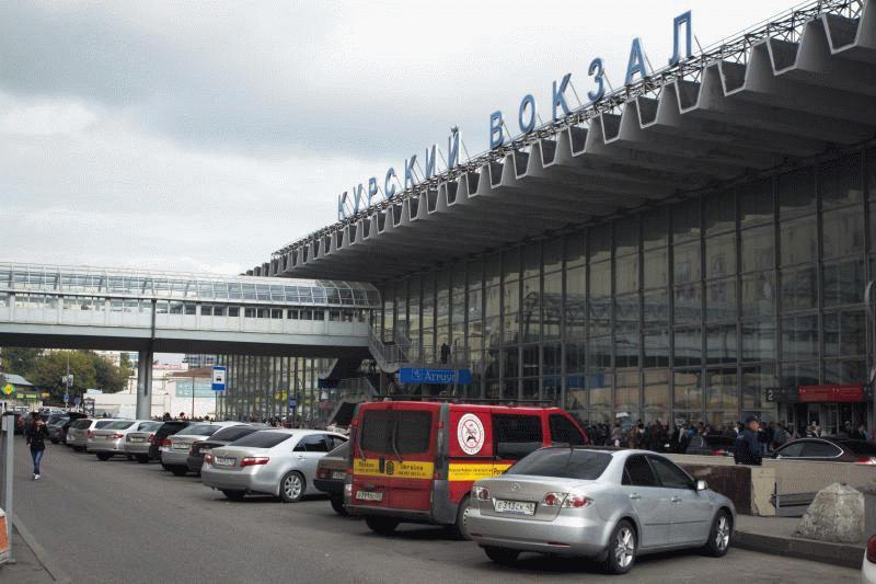 Современный Курский вокзал