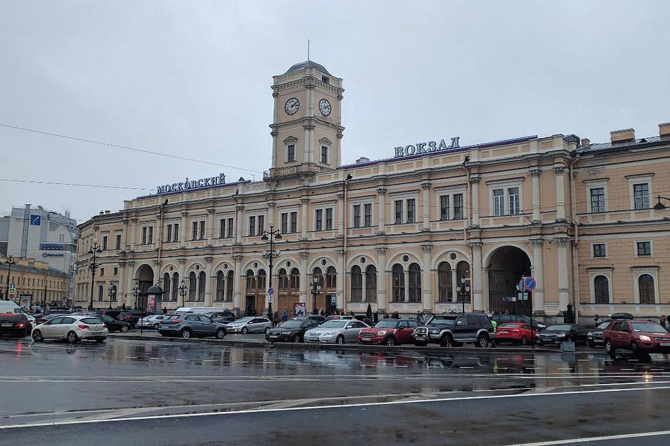 Парковка возле Московского вокзала