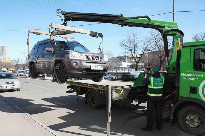 Эвакуация автомобиля