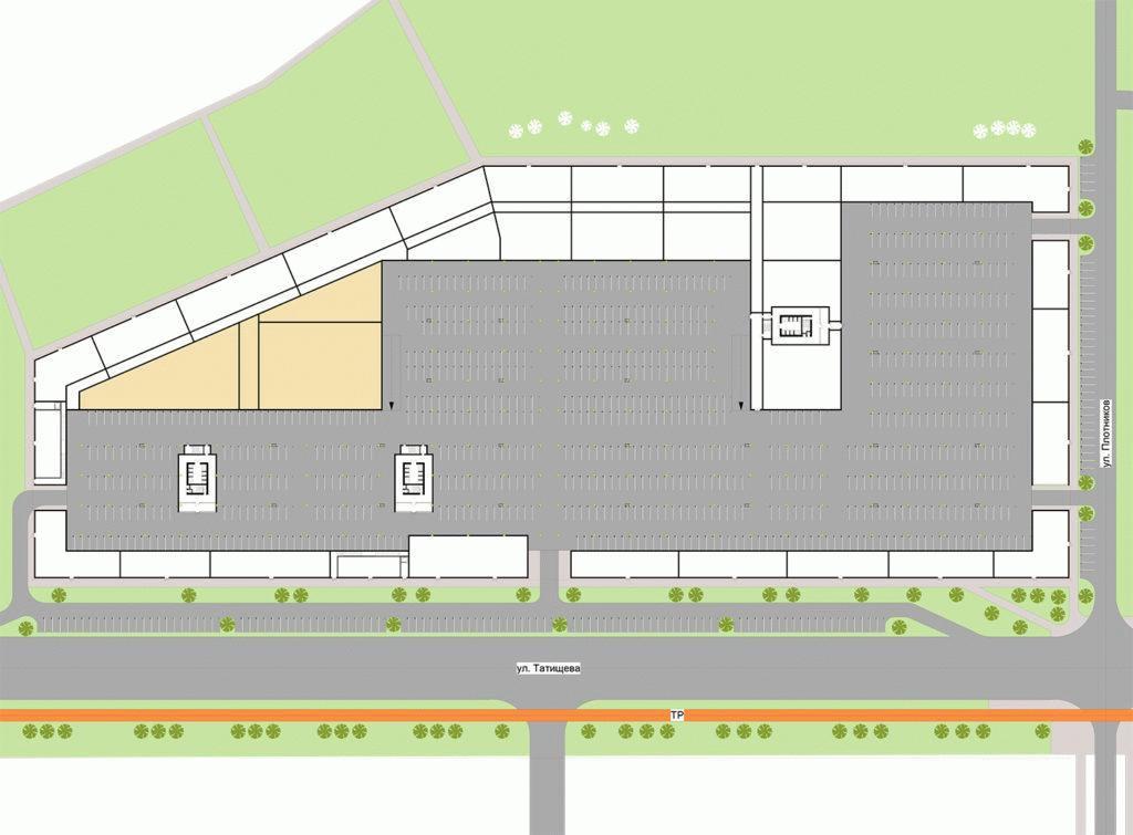 Расположение паркинга и его удаленность от определенных объектов - важзный момент для арендатора