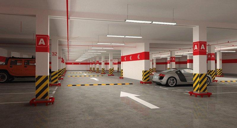 Выбирая место в паркинге стоит внимательно оценивать все параметры стоянки
