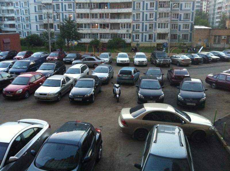 Дефицит парковочных мест
