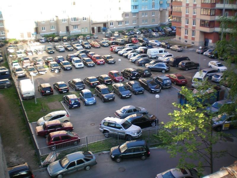 Каждая машина на своем месте
