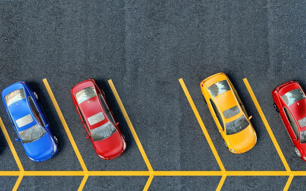 Открытый паркинг на придомовой территории