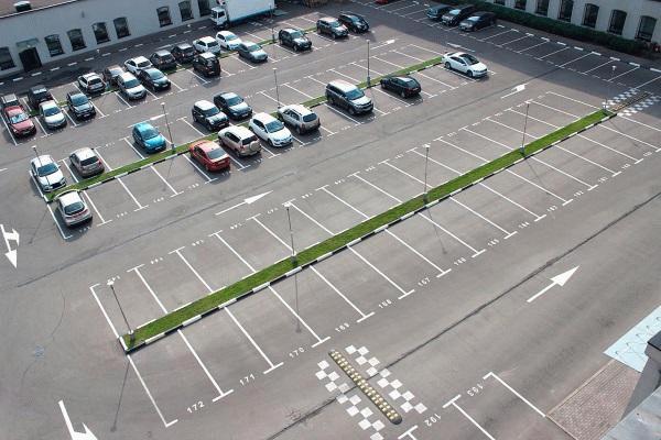 Обустройство паркинга