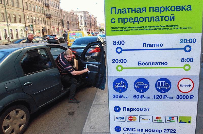 Основной знак парковки