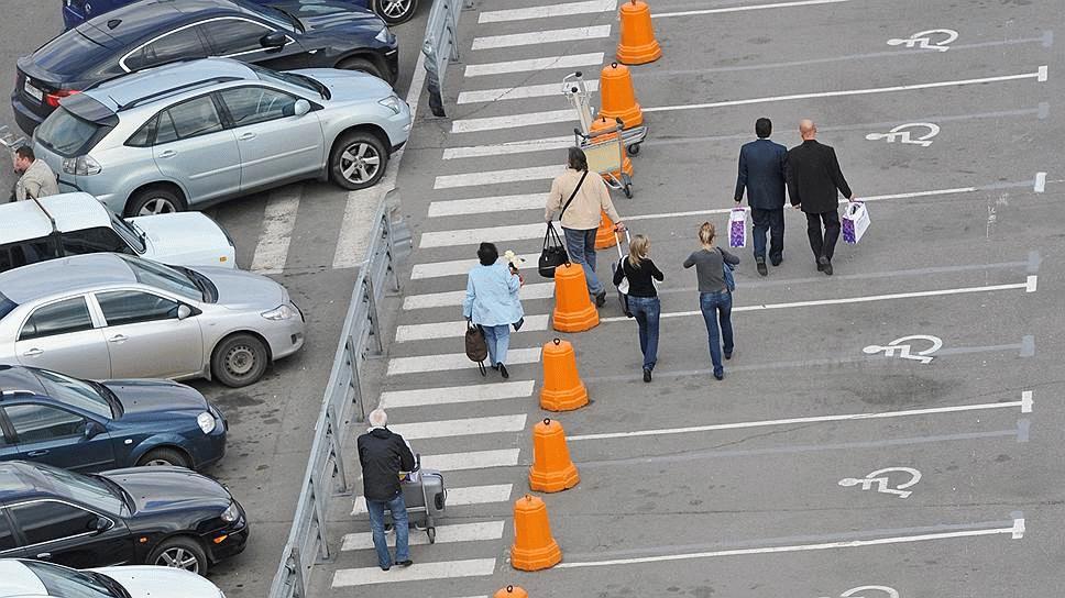 Фото паркинга для инвалидов в Домодедово