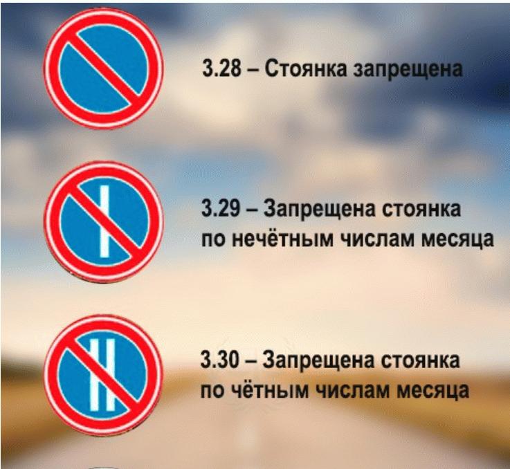 Исключения для инвалидов 3 группы запрещающих знаков