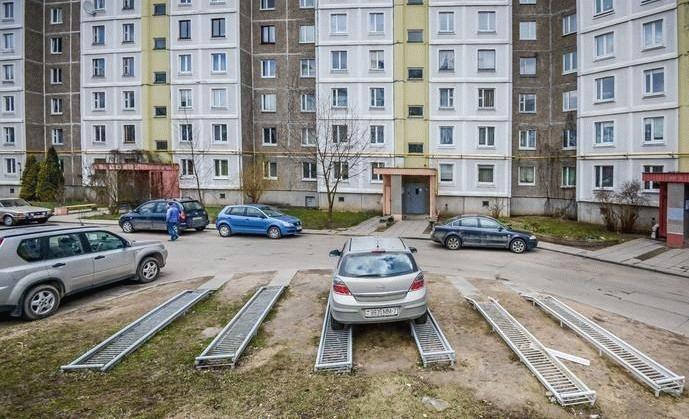 варианты парковочного места