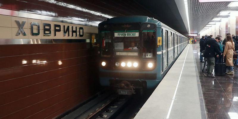 """Станция метро """"Ховрино"""""""